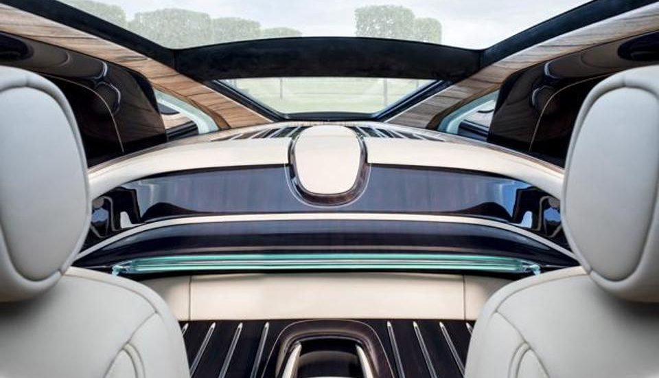roll royce sweptail interior